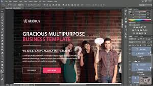 Web Design Grid System Photoshop How To Create Psd Templates Using Grid System In Photoshop Header Section