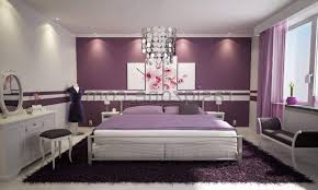 teenage girl bedroom design ideas purple black pattern pillow covers rectangle purple fur rugs white timber