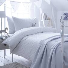 dotty blue spot cotton bedding collection