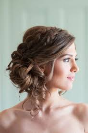 Image Coiffure Soiree Brune Cheveux Mi Long Coiffure Cheveux