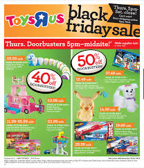 Toys R Us Black Friday 2017 Ads, Deals and Sales