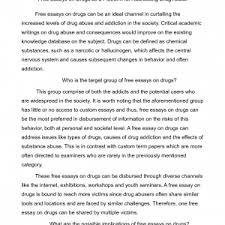 article essay example evaluation sample cover letter  example speech essay how to write speech essay about drugs