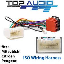 mitsubishi iso wiring harness stereo radio plug lead wire loom image is loading mitsubishi iso wiring harness stereo radio plug lead