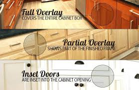 full overlay cabinet doors there are three types of for diy ty