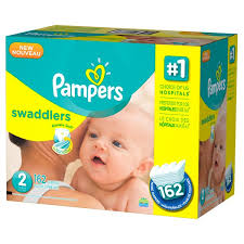 pampers swaddlers size 2 132 count pampers swaddlers diapers size 2 162 ct from bjs wholesale club