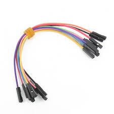 Wire Jumpers Female to Female (15 cm length, <b>10pcs</b> - <b>different color</b>)