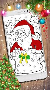 Tranh Tô Màu Ông Già Noel ? Tô Màu Cho Trẻ Em cho Android - Tải về APK