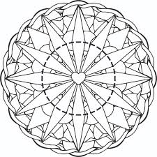 Free Printable Mandala Coloring Page For