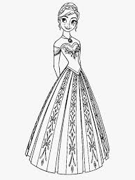 Small Picture Anna From Frozen Coloring Pages Queen Elsa Princess Anna