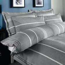 willington grey striped duvet cover and pillowcase setgrey uk ticking stripe