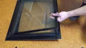 how to remove glass from westinghouse oven