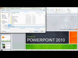how to create a video how to make a video using powerpoint 2010 youtube