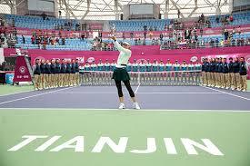 Фотогалерея Федерация тенниса России Мария Шарапова 15 октября выиграла в китайском Тяньцзине свой 36 й титул в карьере