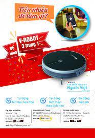 Robot V33 Hút bụi - lau nhà - Home