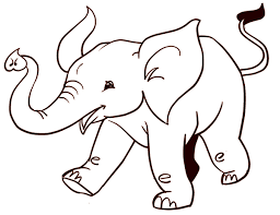 easy animals to draw. Modren Animals How To Draw An Easy Elephant  ArtistsNetworkcom For Easy Animals To Draw Y
