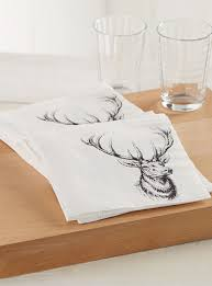 table napkins. hunting-trophy-paper-napkins-br-33-x-33- table napkins