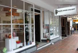 black door gallery from parnell road