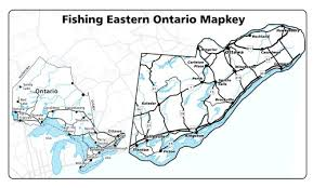 Calabogie Lake Depth Chart Eastern Ontario Fishing Mapbook 3rd Edition