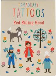 Dětská Sada Tetování červená Karkulka Skibi Kids