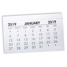 How To Make A School Calendar 2019 Calendar Tabs Mini Month To View Tear Off Monthly 74x 47mm Make Your Own Calendar Bulk School Crafts 50