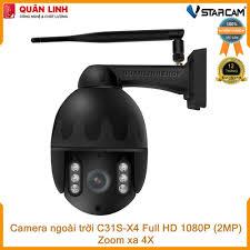 Camera giám sát IP Wifi hồng ngoại ngoài trời zoom xa 4X Full HD 1080P 2MP  Vstarcam C31s-X4