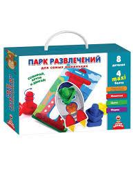 <b>Развивающая игра</b> Парк развлечений для малышей <b>Vladi Toys</b> ...