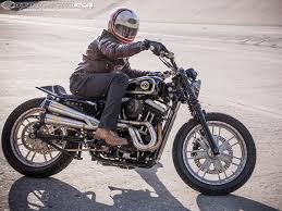 rsd motousa sportster 48 street tracker motorcycle usa man