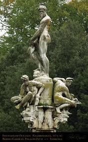 Giambologna oceanus fountain 1576 boboli gardens palazzo pitti