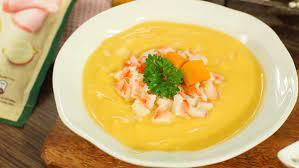 Cách nấu súp tôm bí đỏ thơm ngon, bổ dưỡng cho bé ăn dặm dễ làm tại nhà