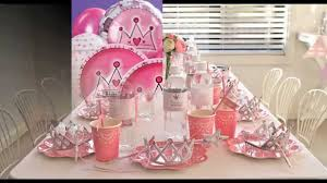 Princess Party Decoration Princess Party Themes Decorations At Home Ideas Youtube