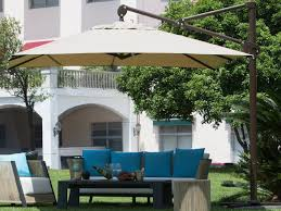 coolaroo 12 foot round cantilever patio umbrella large terra cotta rectangular cantilever umbrella reviews outsidemodern