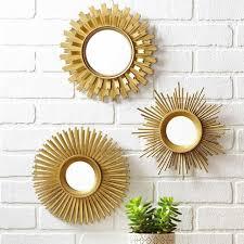 rectangle wall mirror modern living