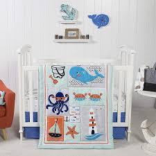 baby bedding ocean pals 3 piece crib