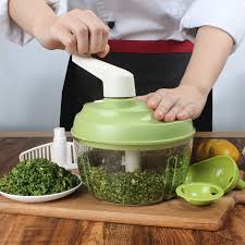 lekoch manual food processor onion vegetable chopper meat grinder