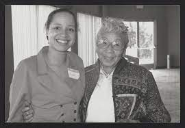 Gisele and Verna Hickman attend an unidentified Golden State Mutual event —  Calisphere