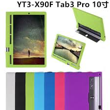 whole for lenovo yoga tab 3 pro 10 x90 x90f x90m x90l tablet cover high quality soft silicon rubber case soft protective back sleeve tablet cases with