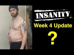 insanity workout results week 4 update