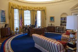oval office rug. Clinton Oval Office. Replica Of Administration Office At William J. Presidential Library Rug
