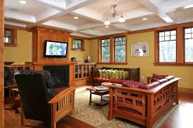 furniture family room craftsman with area rug arts and image by gladu design