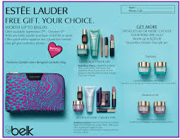 free gift with estee lauder purchase