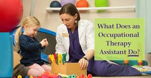 Occupational Therapy Aide What Does An Occupational Therapy Assistant Do At Work St