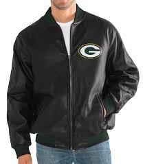 green bay packers g iii nfl stiff arm men s premium varsity jacket com
