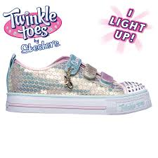Skechers Kids Twinkle Toes Heart And Sole Light Up Sneaker Details About Skechers Twinkle Toes Mermaid Magic Infants Trainers Girls Shoes Casual Gold