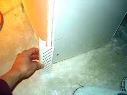 drywall corners rounded or square metal inside corner repair repairing sheetrock outside coat both wal drywall corner