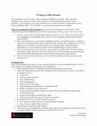 Mba Application Resume Sample Mba Resume Sample New Esl Mba Homework Examples Resume Writing 34