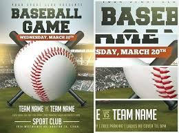 Baseball Brochure Template Baseball Brochure Template Baseball Flyers Templates