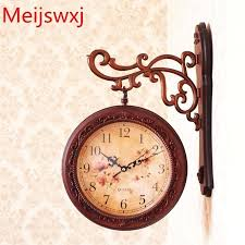 double sided wall clock pre i mzing two sided wall clock modern