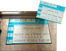 Now You Can Turn Those Old Concert Ticket Stubs Into Floor Mats