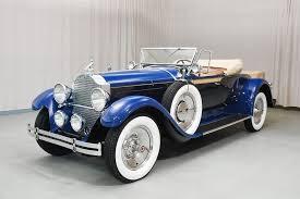 1929 packard 640 roadster hyman ltd clic cars