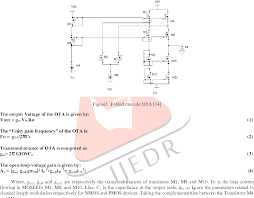 Transconductance Amplifier Design Pdf Design And Implementation Of High Gain High Bandwidth